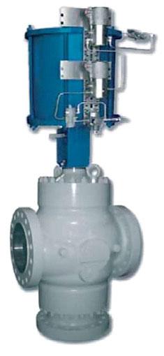 3-ходовые регулирующие клапаны TRV1 и TRV2